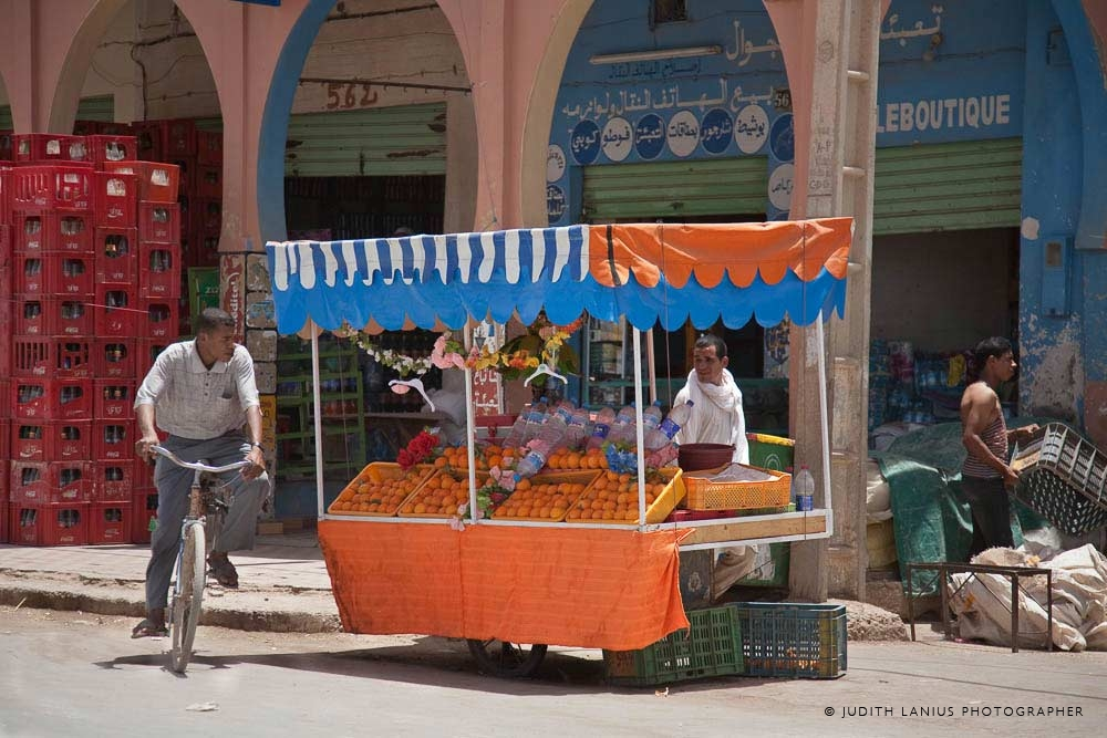 Market etc.,  Orange Vendor, Rissani, Morocco,  North Africa