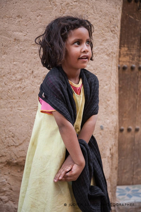Young Girl, Rissani, Morocco