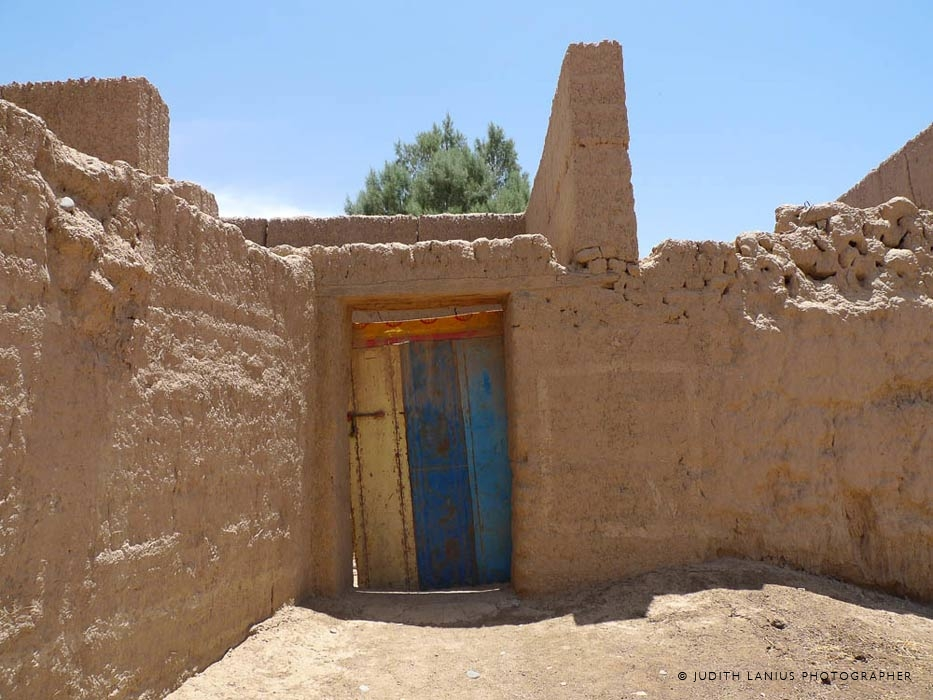 Dwelling Door, Route Touristique, Rissani, Morocco, North Africa
