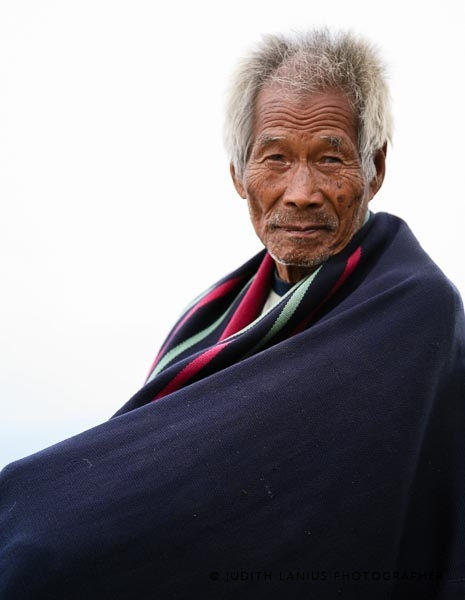 0617.jpg  Village Elder, Tuophema, Nagaland  India
